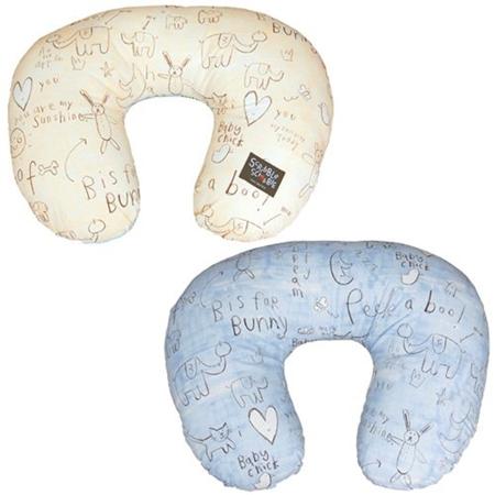 Scribble Scrabble Baby Graffiti ママ&ベビークッション