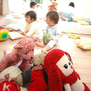 おもちゃだらけの部屋