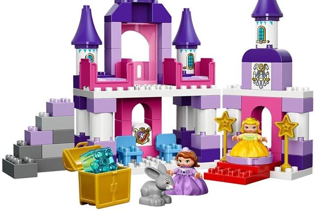 """レゴ デュプロ ちいさなプリンセス ソフィア """"王さまのおしろ"""""""