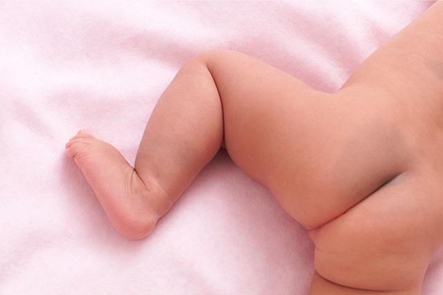 赤ちゃんのお尻