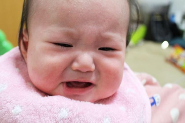 体調が悪い赤ちゃん