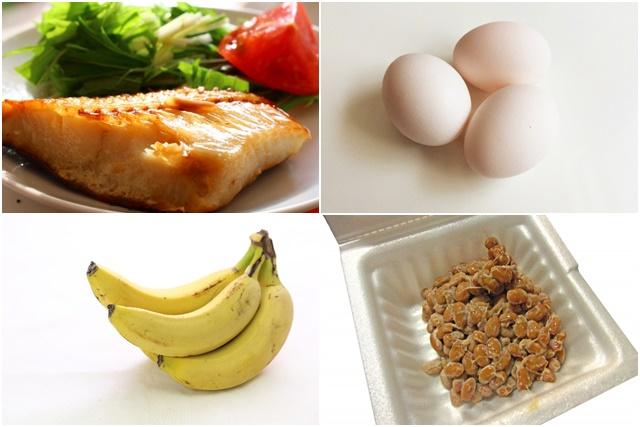 魚や納豆、バナナなど