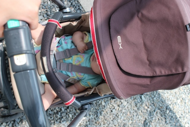 赤ちゃんとの外出