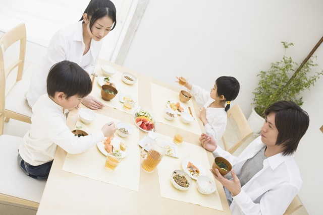 家族の食事