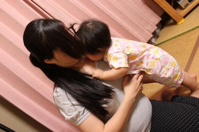 お母さんと一歳児