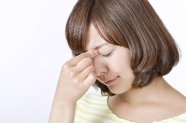 頭痛の妊婦さん
