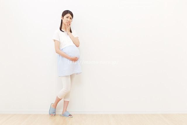 悲しい妊婦さん