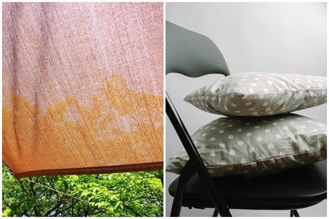 サンシェードと椅子