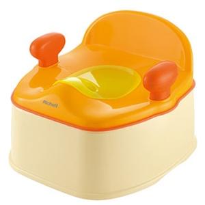 リッチェルポッティスいす型おまるR オレンジ