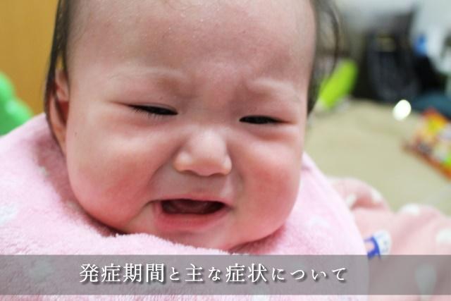 リンゴ病の赤ちゃん