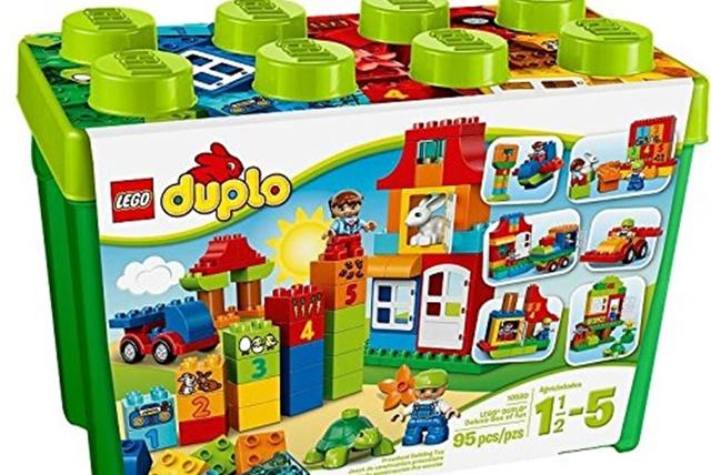 レゴ デュプロ みどりのコンテナスーパーデラックス