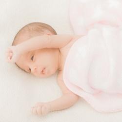 お風呂上りの赤ちゃん