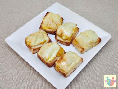 かぼちゃのチーズトースト