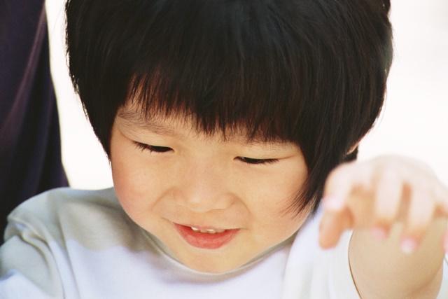 3歳の自閉症児