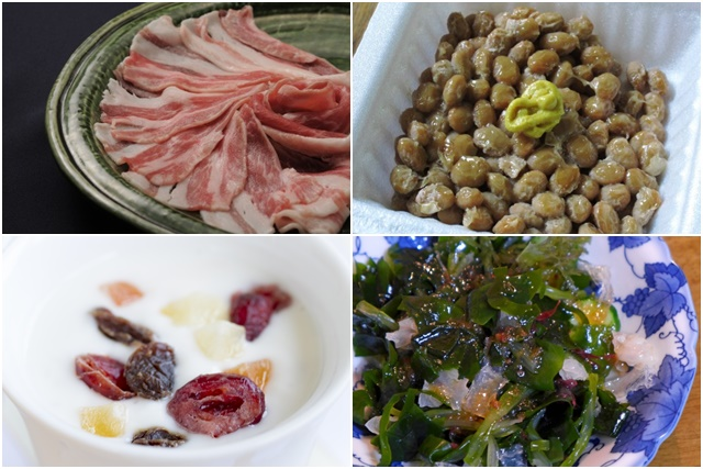 海藻や納豆など