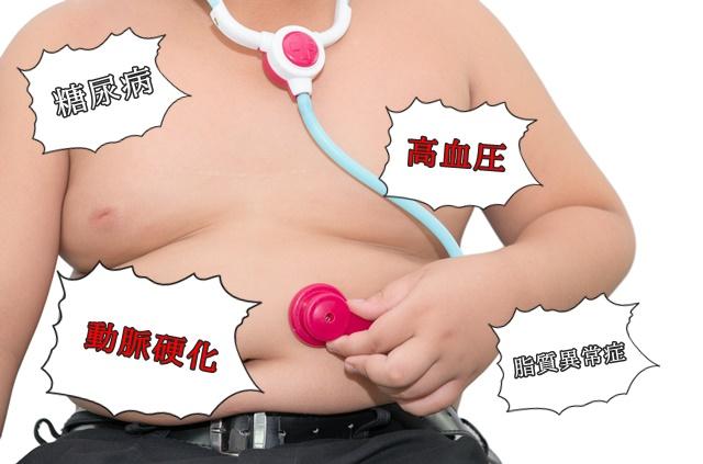 肥満の男の子