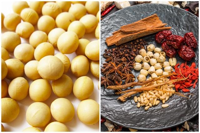 大豆と漢方