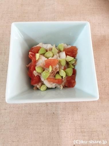 ツナと枝豆のサラダ