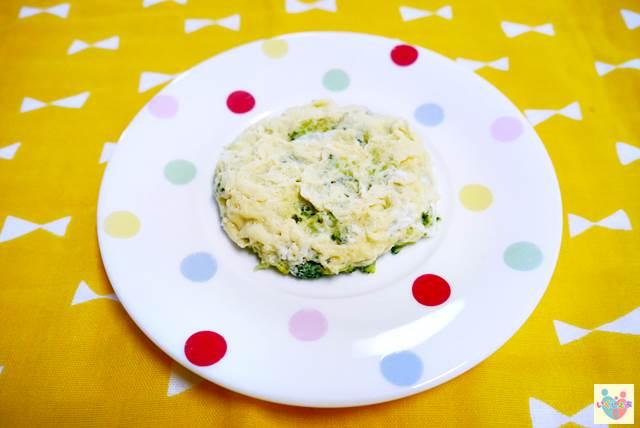 ブロッコリーのチーズオムレツ