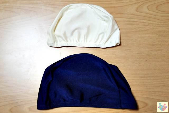 水泳帽子と水泳キャップの比較
