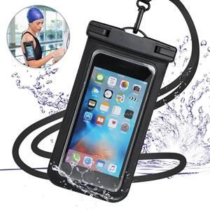 強化版 防水ケース スマホ用 【IPX8認定 指紋認証対応】 スマホ 防水携帯ケース
